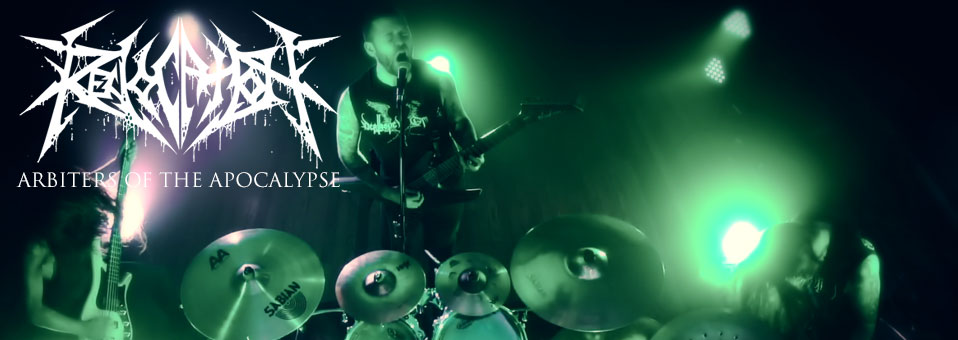 REVOCATION launches new video for 'Arbiters of the Apocalypse'!