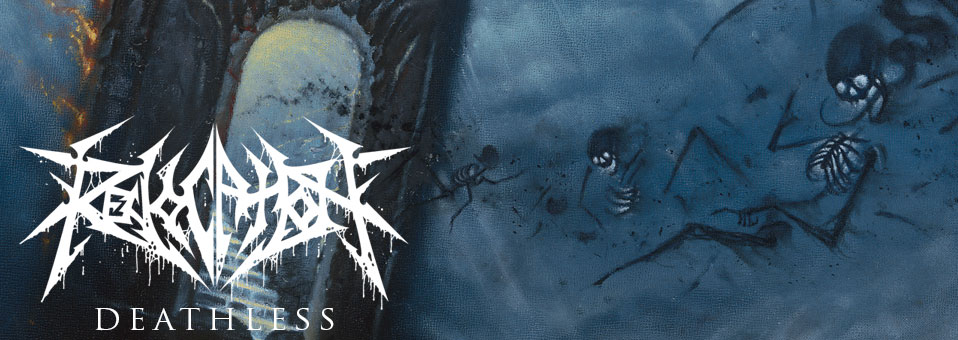 Noisey debuts REVOCATION's 'Madness Opus'! Metal Blade Records debut 'Deathless' out October 10th!