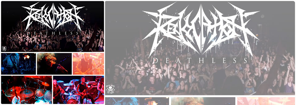 REVOCATION debut new video for 'Deathless' on Metal Injection!