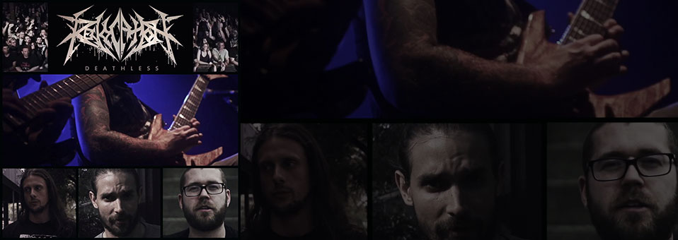 REVOCATION post first studio video from 'Deathless' recording sessions!