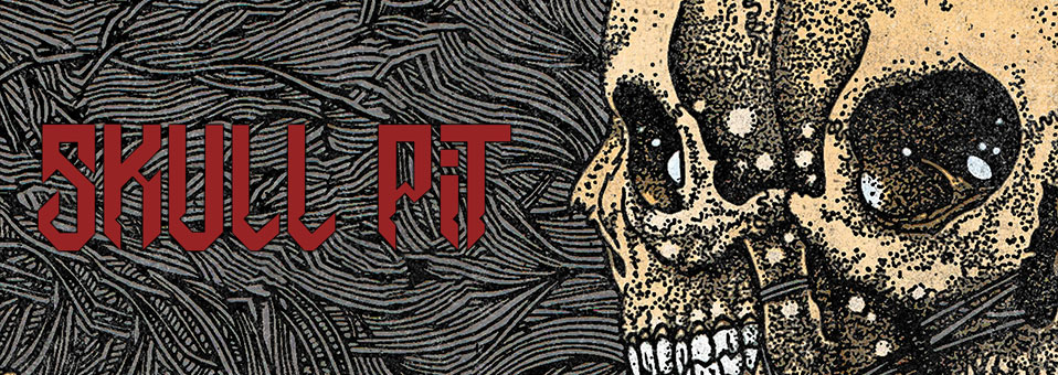 Skull Pit feat. Mem of Exumer and Tatsu of Church of Misery releases debut album 'Skull Pit' November 16th!