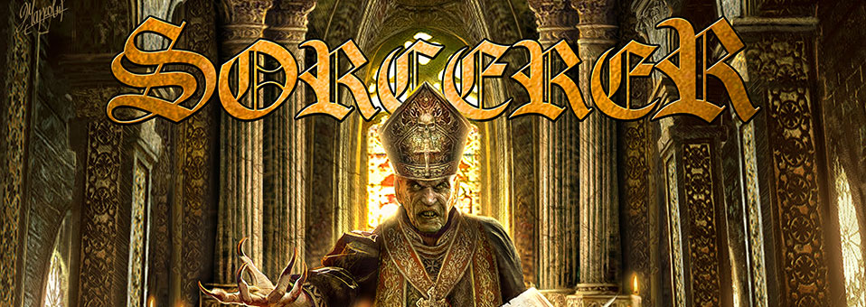Sorcerer releases video clips for entire new album, 'Lamenting of the Innocent'