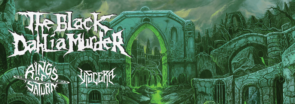 The Black Dahlia Murder announces 'Verminous European Tour 2021′!