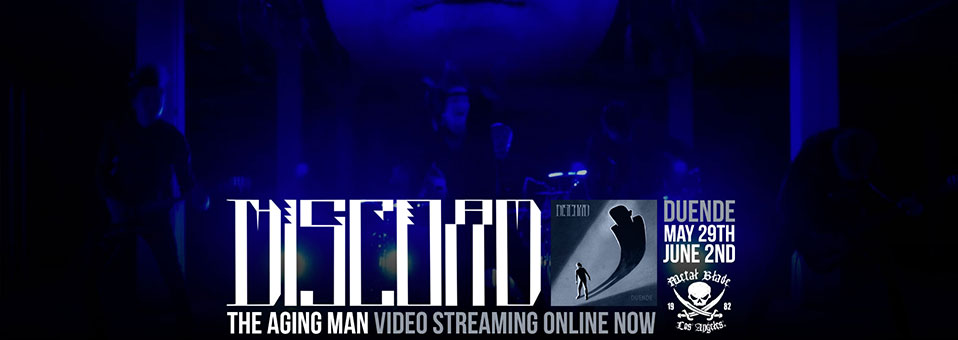 THE GREAT DISCORD streamen Videoclip zu 'The Aging Man' exklusiv über Website des Rock Hard Magazins!