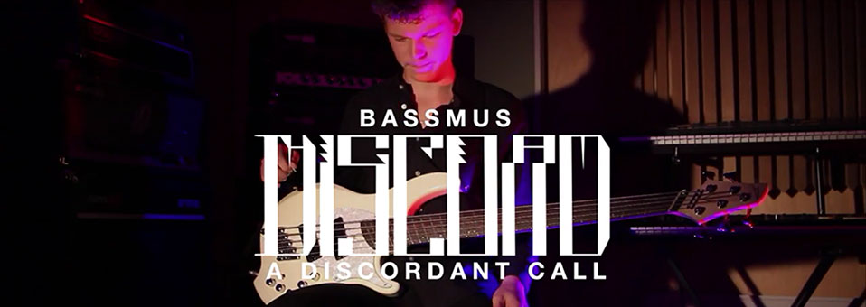 "THE GREAT DISCORD premieres bass play-through for ""A Discordant Call"" via GearGods.net!"
