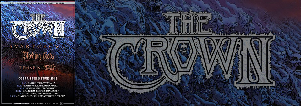 The Crown announces short European run in December!
