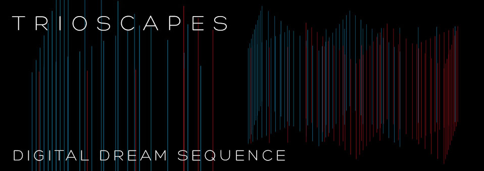 TRIOSCAPES launchen 'Digital Dream Sequence' Studiovideo!
