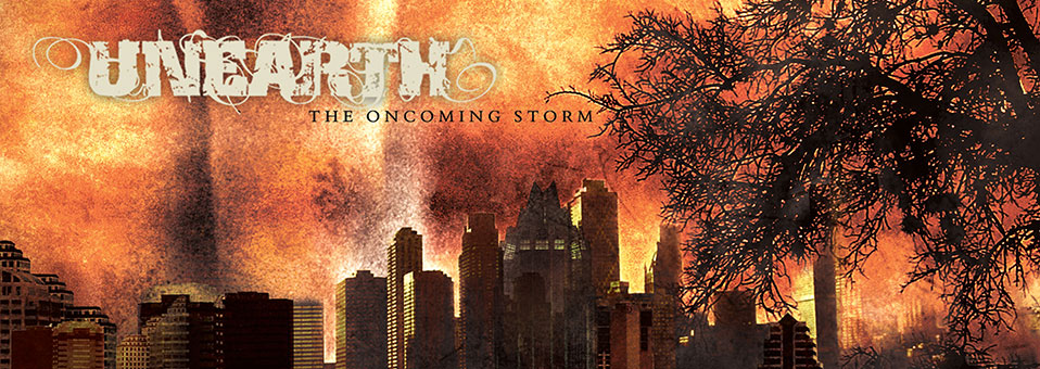 UNEARTH: 'The Oncoming Storm' LP re-issue now available via Metal Blade Records!