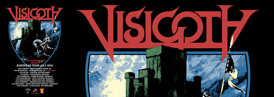 American Heavy Metallers VISIGOTH to return to Europe in July!
