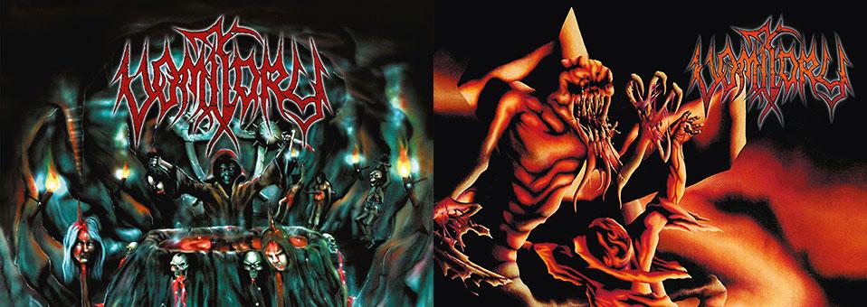 Metal Blade veröffentlichen VOMITORY Klassiker 'Blood Rapture' und 'Revelation Nausea' auf Vinyl!