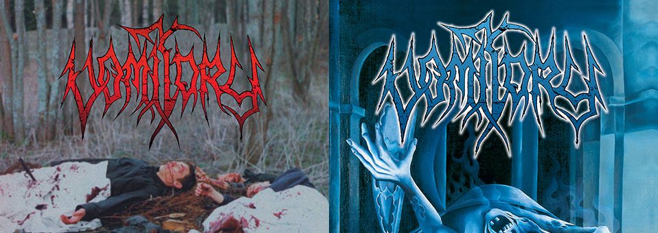 Metal Blade to re-issue first two VOMITORY albums 'Raped In Their Own Blood' and 'Redemption' on vinyl and Digi-CD with bonustracks!