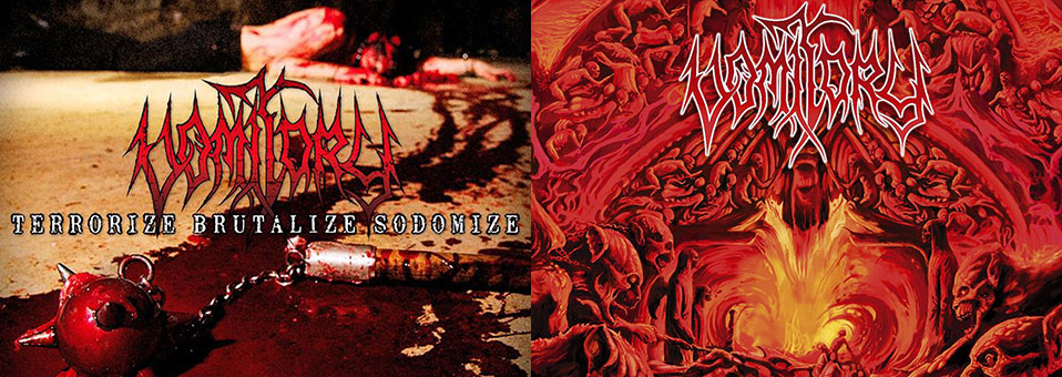 Metal Blade to re-issue VOMITORY classics 'Primal Massacre' and 'Terrorize Brutalize Sodomize' on vinyl!