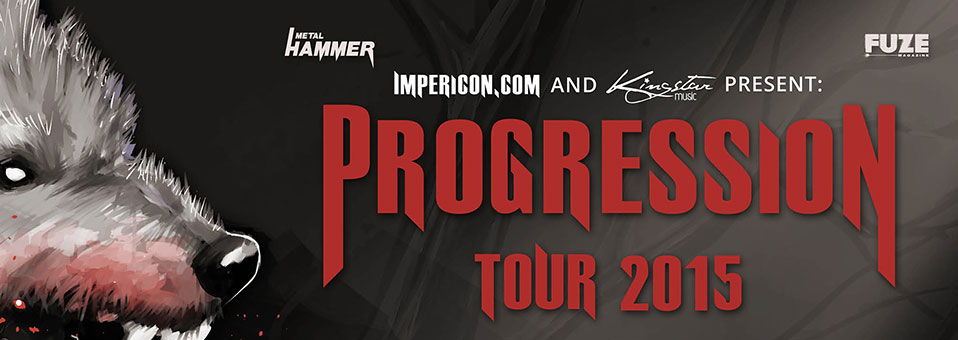 WHITECHAPEL confirmed for PROGRESSION TOUR 2015 and IMPERCION FESTIVALS!