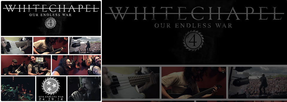 "WHITECHAPEL post 4th ""Making Of Our Endless War"" video!"
