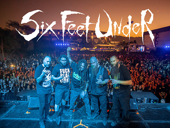 Six Feet Under Announce Christmas In Tour For Germany In December