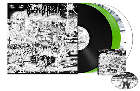 Sacred Reich To Release Ignorance 30th Anniversary
