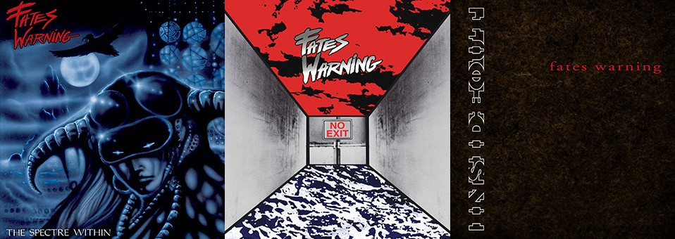 Fates Warning: 'The Spectre Within', 'No Exit', 'Inside Out' Vinyl Reissues ab sofort bei Metal Blade erhältlich!