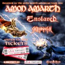 AMON AMARTH premiere epic production video for 'Father Of The Wolf' at Las Vegas show