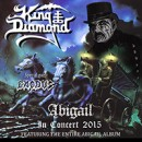 "King Diamond to film feature length video on the ""Abigail In Concert 2015″ tour for blu-ray / DVD release"