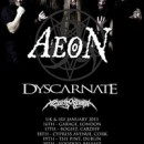 AEON UK/Ireland headline tour confirmed!