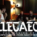 ALLEGAEON launches mini studio documentary for new album, 'Proponent for Sentience', online!