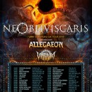 ALLEGAEON to embark on a European tour in March supporting NE OBLIVISCARIS!