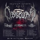 ALLEGAEON to embark on a European tour next February supporting OBSCURA!