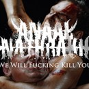 ANAAL NATHRAKH launches video for 'We Will Fucking Kill You' online!