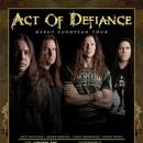 ACT OF DEFIANCE bestätigen Europatour im Juli und Festivals im August!