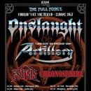 ARTILLEY kündigen Co-Headliner Tour durch Europa mit ONSLAUGHT an! Support kommt von EXARSIS und CHRONOSPHERE!