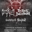 THE BLACK DAHLIA MURDER announces summer dates with DYING FETUS, GOATWHORE and GHOST BATH!