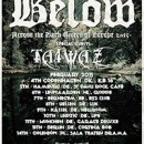 BELOW European tour fully booked!