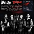 Swedish Doom band BELOW releases 2nd song taken off debut album 'Across The Dark River' exclusively through Rock Hard Germany!