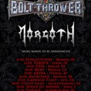 BOLT THROWER announce Morgoth as support on European tour for the fall!