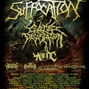 "Cattle Decapitation und Abiotic bereisen Europa 2016 mit Suffocation auf der ""The Tyrants Of Death""-Tour!"