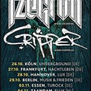 CRIPPER announces co-headline tour with IZEGRIM!