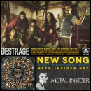"DESTRAGE präsentieren neuen Song ""Host, Rifles, and Coke"" via Metal Insider!"