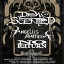 DEW-SCENTED announce European tour for October!
