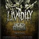 DICTATED confirm European tour with Lividity and Dead Infection!