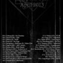 DOWNFALL OF GAIA announces full European tour for April!
