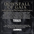 DOWNFALL OF GAIA recap 2013 and look for a new drummer!
