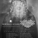 DOWNFALL OF GAIA gehen zusammen mit DER WEG EINER FREIHEIT auf Co-Headline-Tour im März und April 2015!