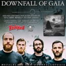 DOWNFALL OF GAIA premieres 'To Carry Myself To The Grave' via Rock Hard Germany!