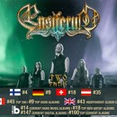 ENSIFERUM enters worldwide charts for new album, 'Two Paths'!