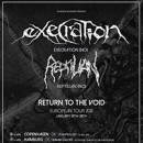 EXECRATION 'Return To The Void' European tour for January 2018 fully booked!