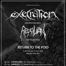 EXECRATION 'Return To The Void' Europatour für Januar 2018 vollständig gebucht!