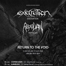 EXECRATION full European tour announced for January 2018!