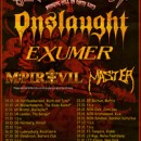 EXUMER co-headlinen in Europa die 'Slaughterfest Tour 2013′ neben ONSLAUGHT!