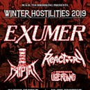 EXUMER announces European tour for November and December with Pripjat and Reactory as supports!