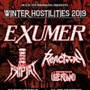 EXUMER kündigen Europatour für November und Dezember mit Pripjat und Reactory im Vorprogramm an!